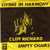 Cliff Richard - Denmark - Living In Harmony/Empty Chairs (DB 8917)
